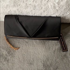 NWT Black Clutch/Shoulder bag